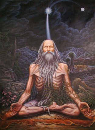 The Yogi Attains Siddhi