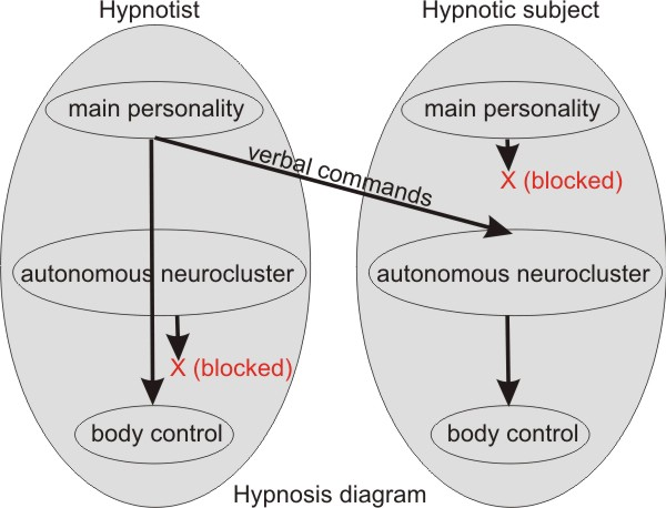 Hypnosis diagram