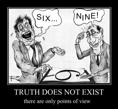 Absolute truth does not exist